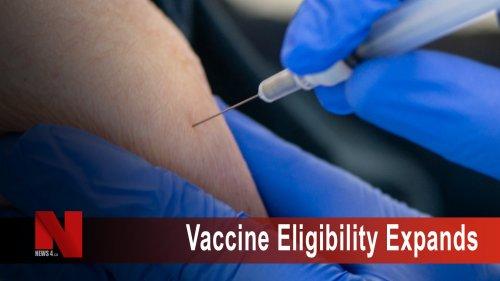 Eligibility criteria expands for COVID-19 immunization