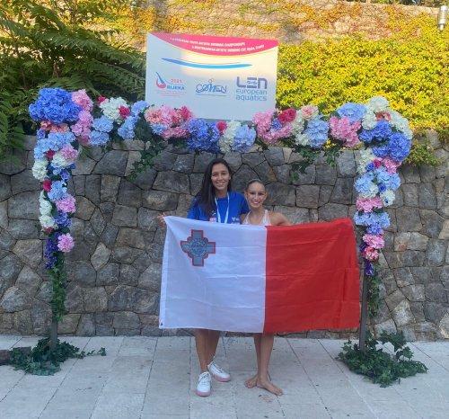 Maltese artistic swimmers reach Croatia championship finals
