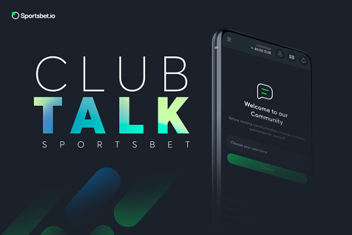 Drop in For a Chat with Sportsbet.io's New Club Talk Feature | NewsBTC