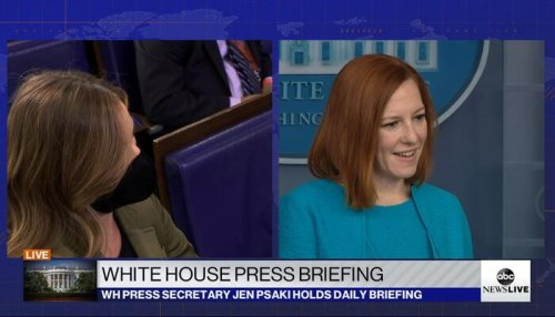 Suffering Psaki: Press Secretary Ducks Questions on Court-Packing, Russian Bounties