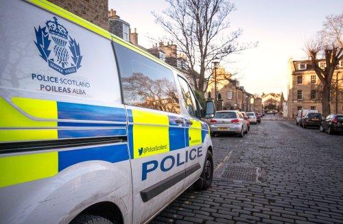 Woman pedestrian dies after being struck by police van