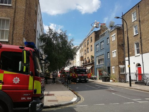 Fire breaks out in kitchen of popular London pub owned by film director Guy Ritchie