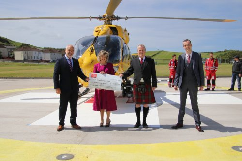 Helipad named after paramedic who died with coronavirus officially opens