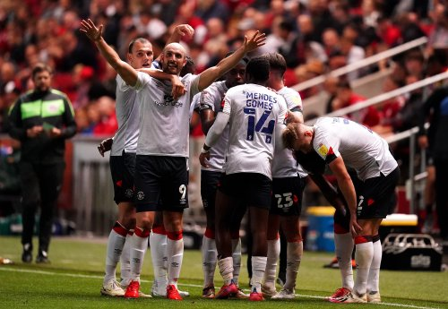 Luton leave it late as substitute Danny Hylton clinches point at Bristol City