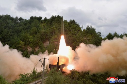 North Korea announces first train-launched ballistic missiles test
