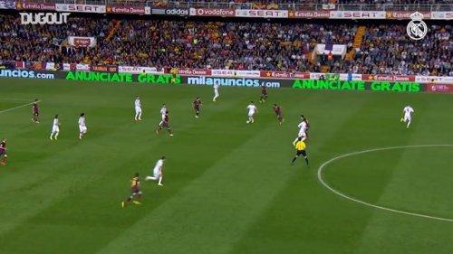 Real Madrid's Copa del Rey title vs Barcelona in 2014