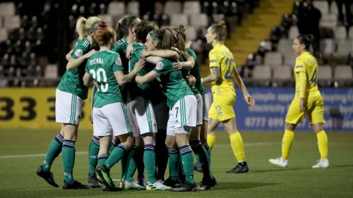 Simone Magill: What a moment for women's football in Northern Ireland