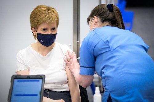 Half of Scottish population vaccinated as Sturgeon praises 'phenomenal progress'