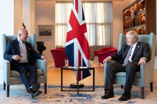 Jeff Bezos tells Boris Johnson that governments must decide taxation frameworks