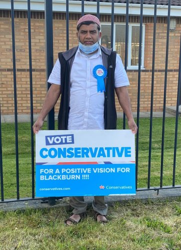 'BoJo of Blackburn' Tiger Patel wins election seat after viral campaign video