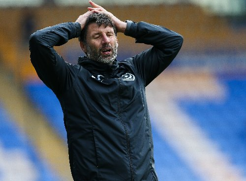 Portsmouth performance worries Danny Cowley