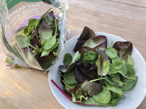 If you're always throwing away bagged salad, try growing your own lettuce mix