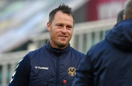 Newport boss Mike Flynn hits out at referee as Cambridge go top of table