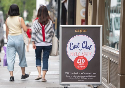Inflation soars to highest since 2012 after Eat Out to Help Out impact