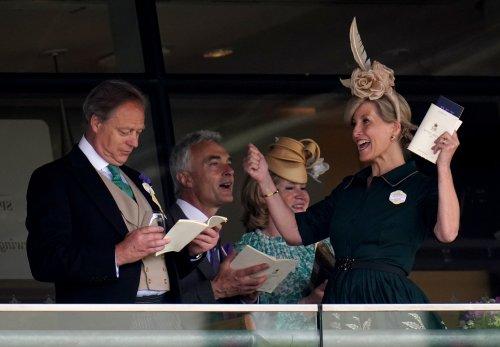 Sophie celebrates Royal Ascot win on Ladies' Day