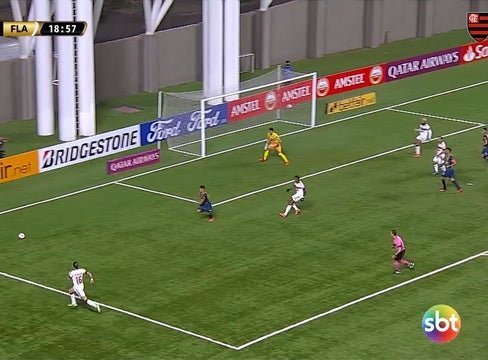 Willian Arão secures a point for Flamengo against Unión La Calera