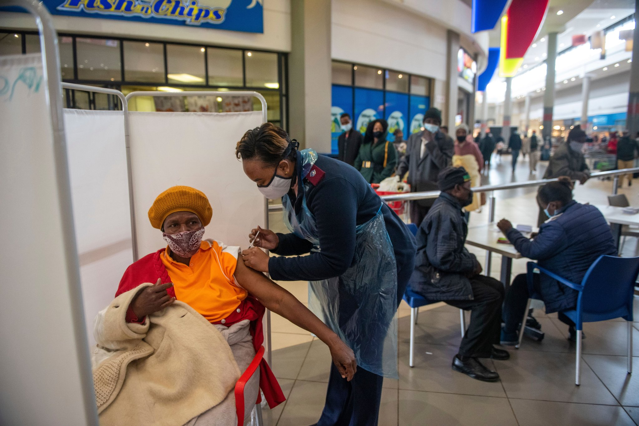 South Africa ramps up vaccine drive as continent marks 'most dire pandemic week'