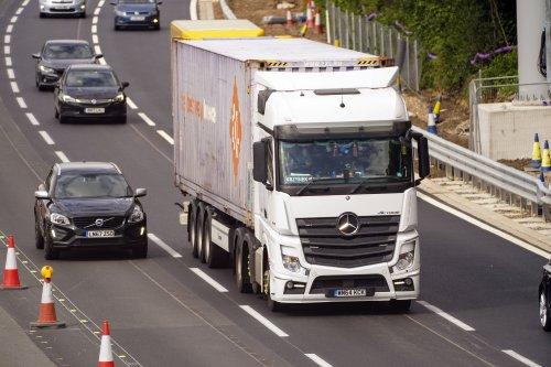 Strange claim by Transport Secretary over HGV driver crisis