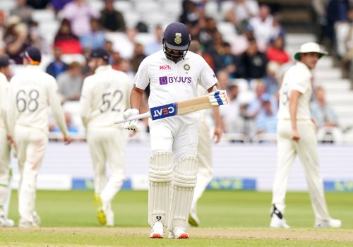 India in control of first Test despite England taking a wicket just before lunch