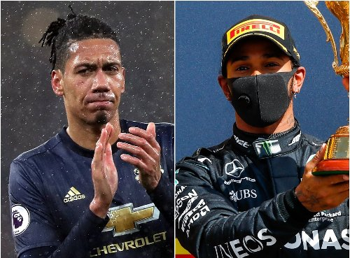 Smalling welcomes support and Hamilton takes pole – Saturday's sporting social