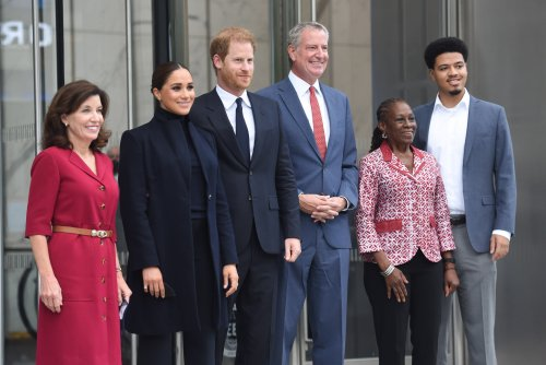 Harry and Meghan on 'wonderful' trip to New York