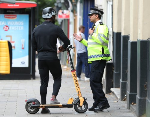 More than 500 e-scooters seized by police in London in just seven days