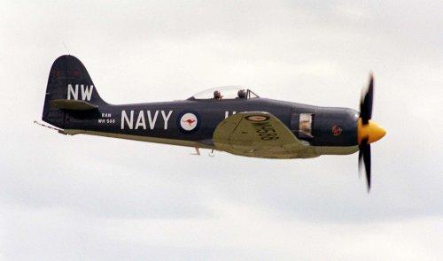 Historic plane crashes near Royal Navy air base in Somerset