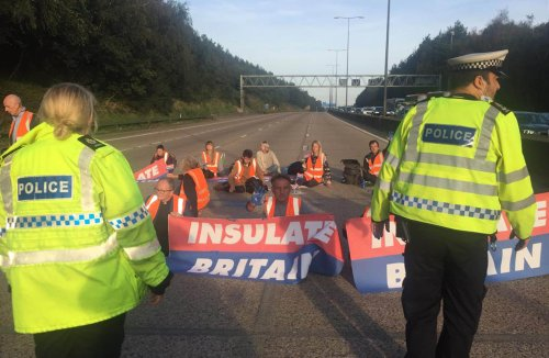 Home Secretary vows to crack down on 'guerilla' activism in wake of M25 protests