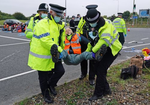 Police urged to act quicker to halt M25 protests as dozens more arrested