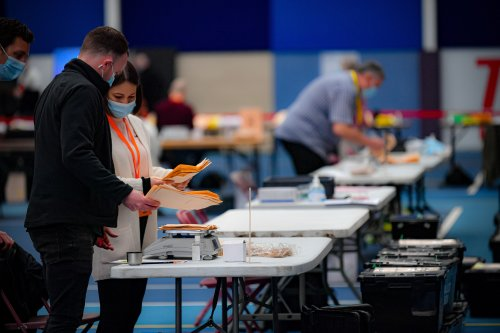 First result of Senedd election sees Tories hold Montgomeryshire