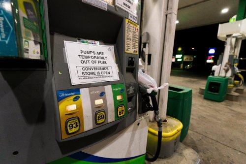 Conservatives falsely blame Biden over US fuel pipeline shutdown