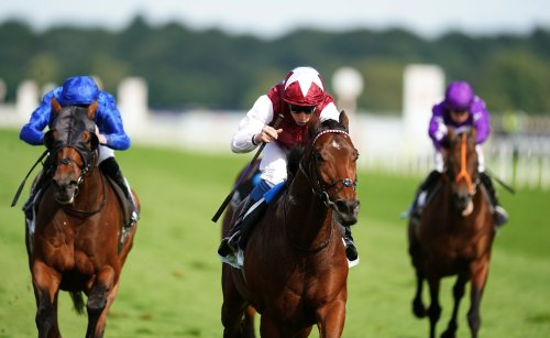 Glorious Journey stamps class on Park Stakes