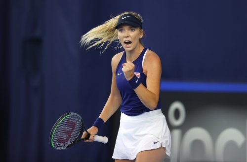 GB on verge of play-off victory after wins for Katie Boulter and Heather Watson
