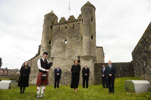 Philip's funeral marked across island of Ireland