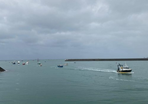 France sends police patrol boats to Jersey as Brexit fisheries row deepens