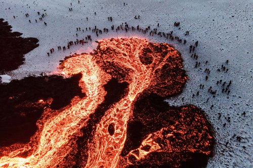 More fissures are opening up at the Fagradalsfjall volcano in Iceland