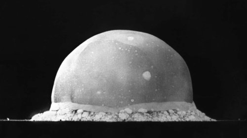 The invention of the nuclear bomb