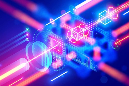 Clouds of atoms trap light in a way that could store quantum data