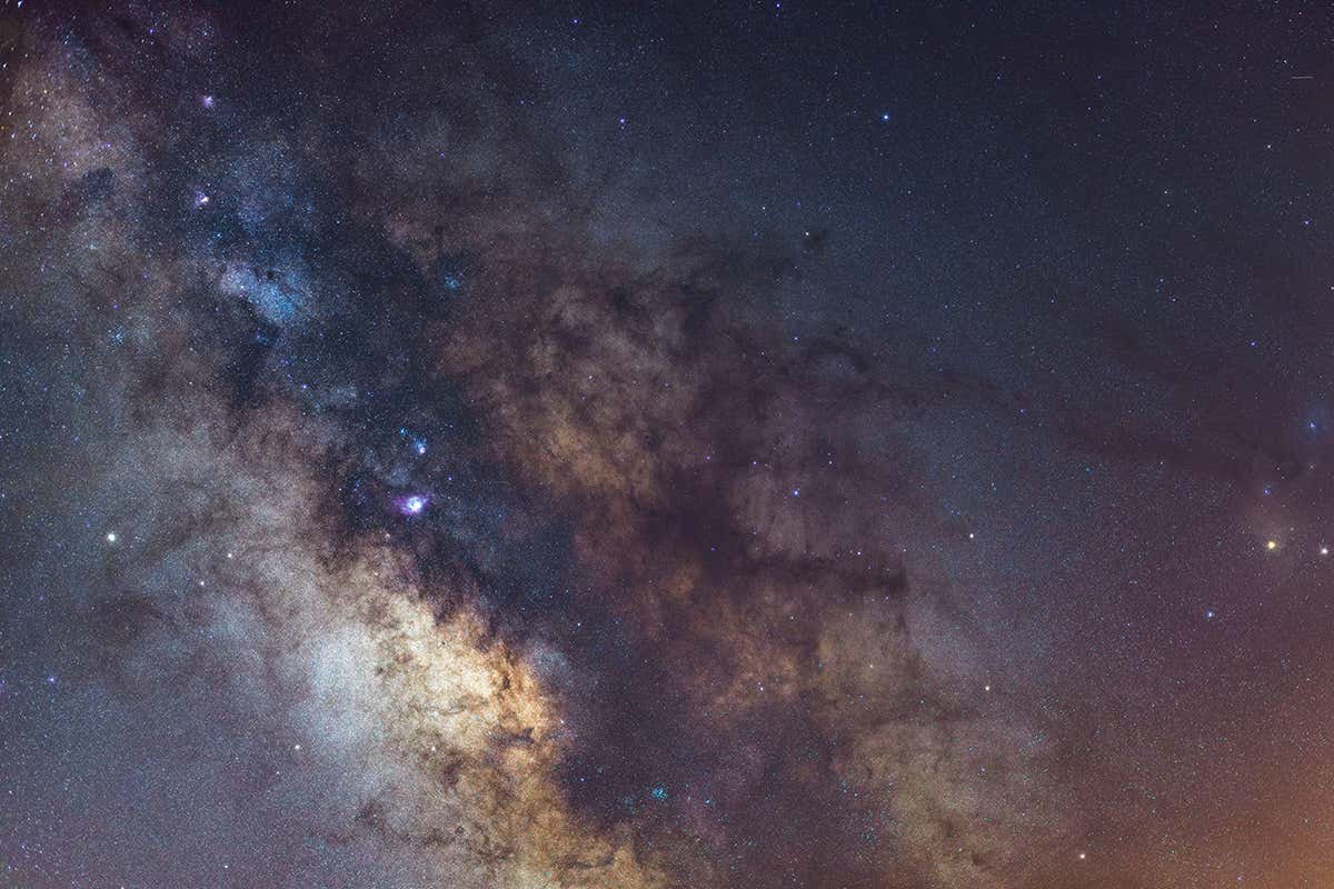 How to spot the Milky Way in the night sky