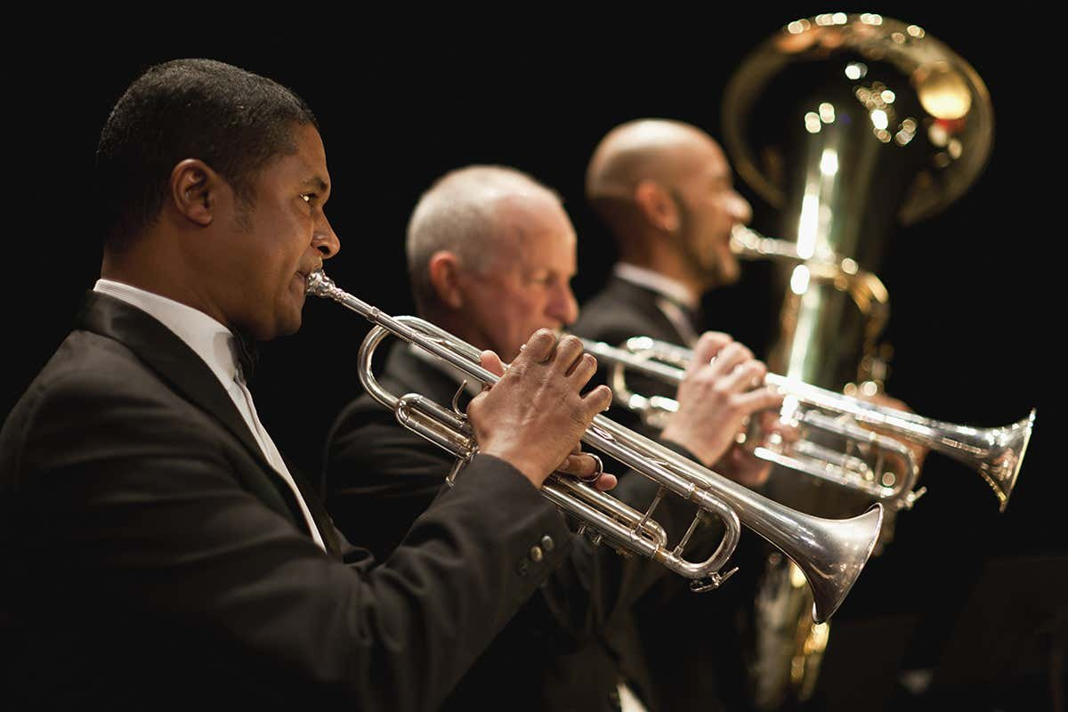 Turning orchestras inside out could lower risk of spreading covid-19
