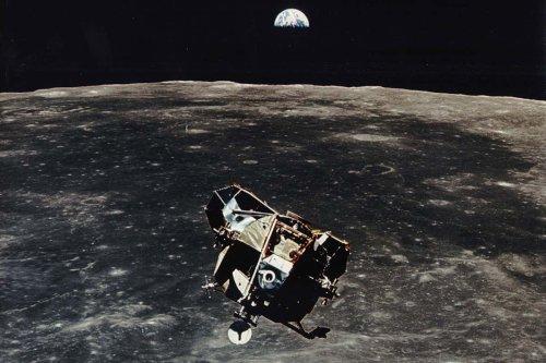 Part of the Apollo 11 spacecraft may still be in orbit around the moon