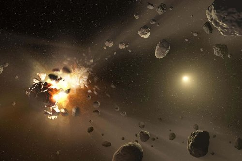 Where do meteorites come from?