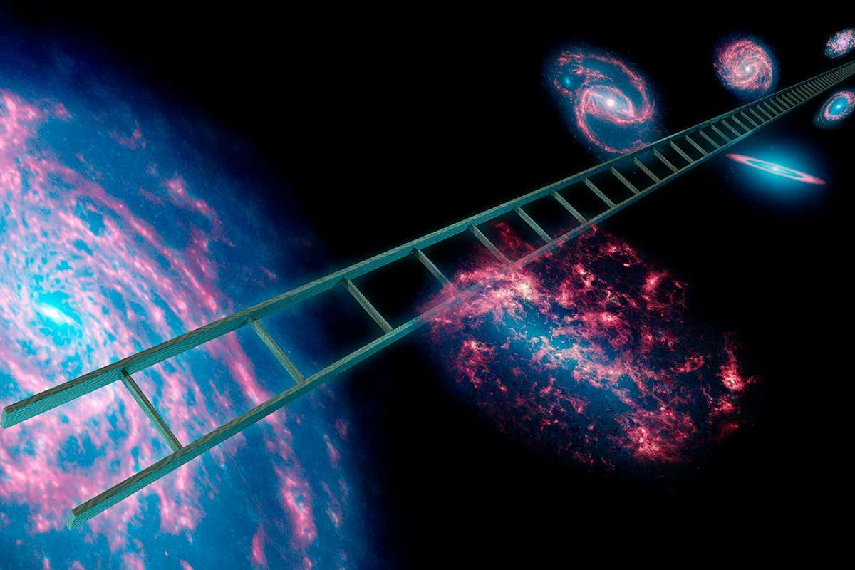 Cosmic calculation may settle debate about the rate the universe grows