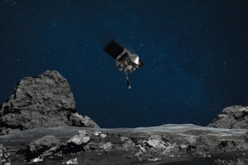 Asteroid Bennu was once part of a space rock with flowing water