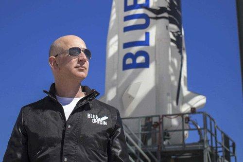 Jeff Bezos will be on board Blue Origin's first crewed space flight
