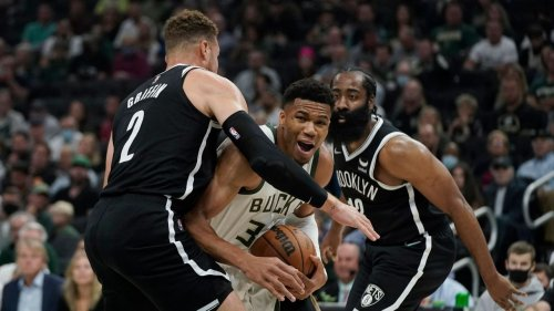 Nets routed in opener by Giannis and the Bucks