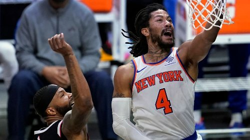 A healthy Rose blooms again for Knicks