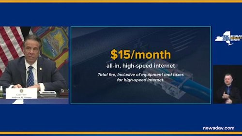 NY law provides low-cost broadband internet for low-income families