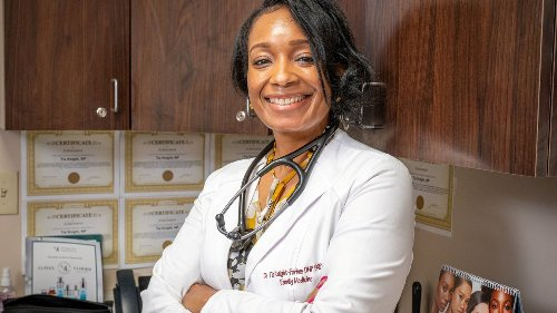 Nurse-practitioner comes back to LI to pay it forward