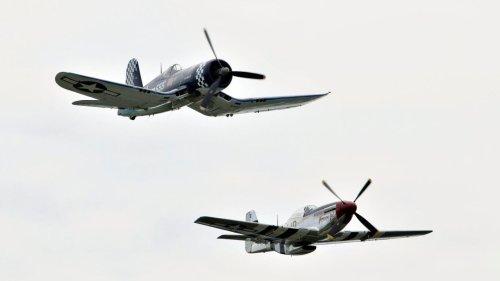 See vintage warplanes at Airpower Museum, air show